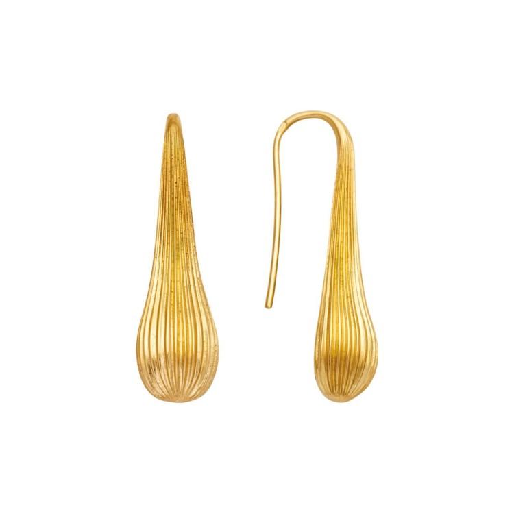 Boucles d'oreilles Pendantes or goutte